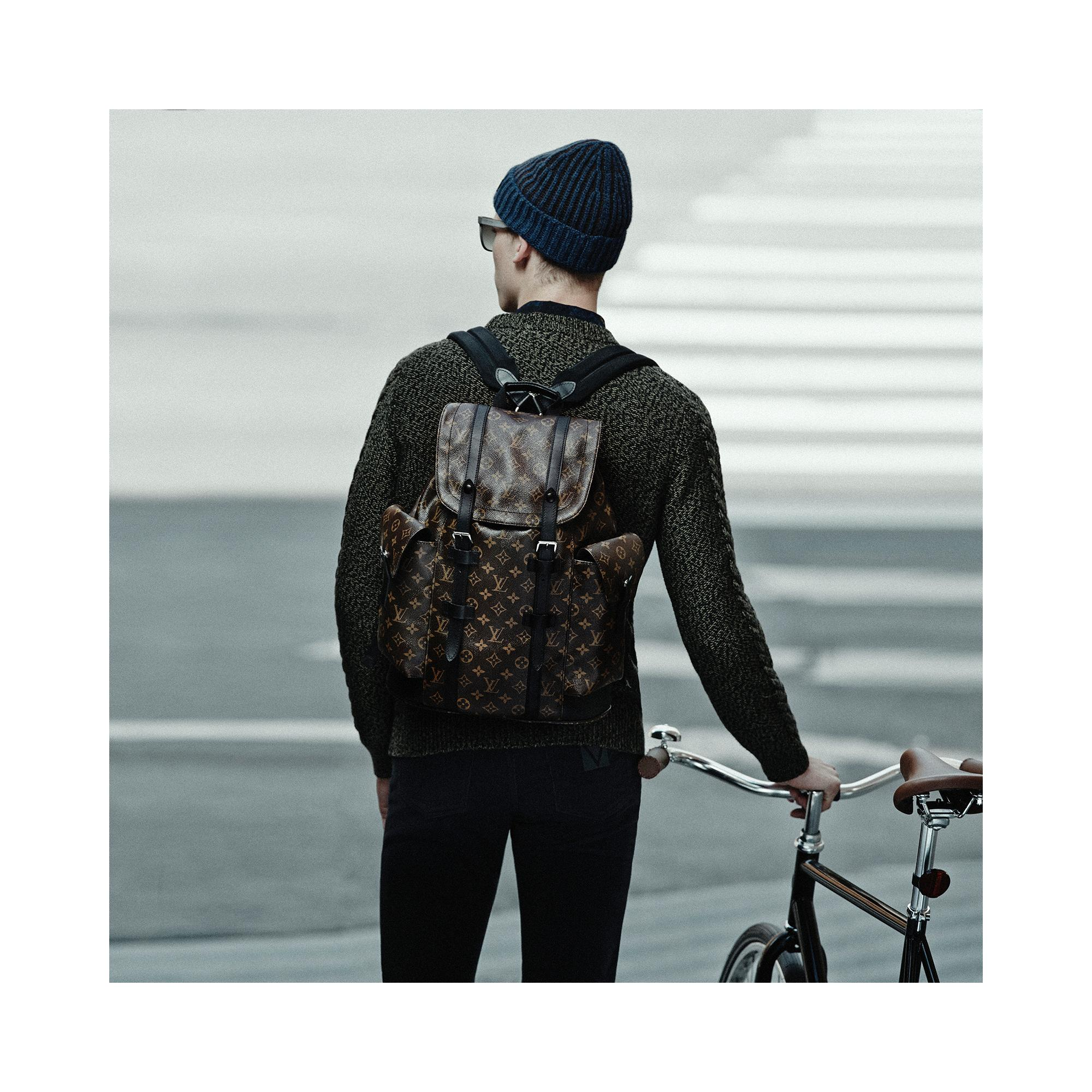 Christopher PM  Canvas Monogram Macassar in HOMEM's VIAGEM  collections by Louis Vuitton
