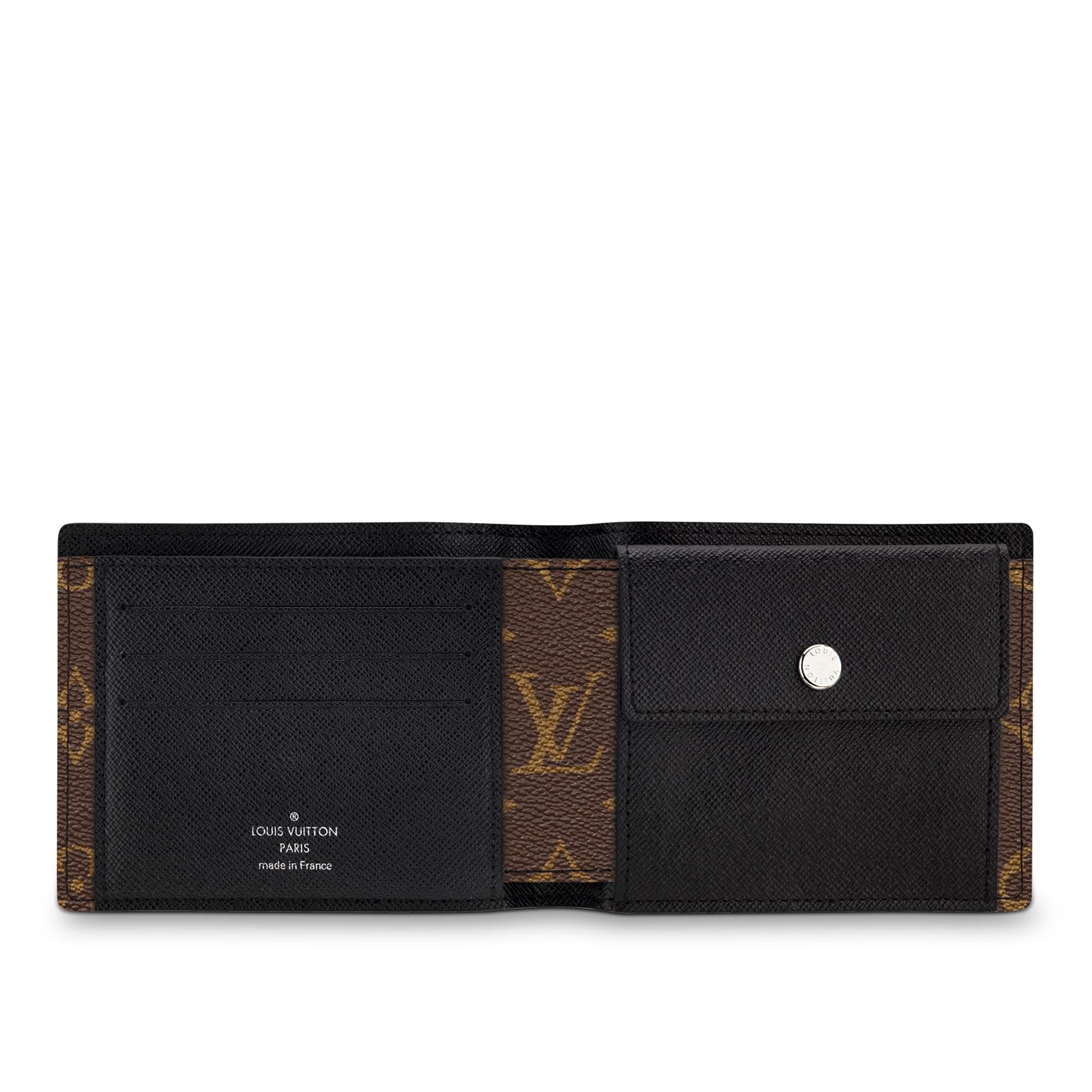 LOUIS VUITTON® PF Mindoro  Canvas Monogram Macassar - Carteiras compactas Carteiras e Mais